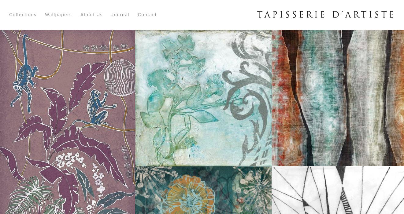 Sito web Tapisserie d'Artiste